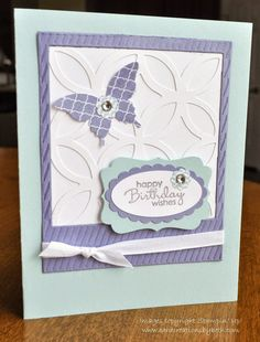 Birthday Card; Stampin Up;  Card Creations by Beth