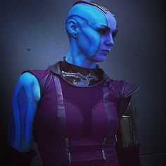 20 Cosplays That Are So Accurate: Nebula from Guardians of the Galaxy by Karin Olava