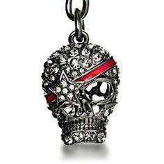 Skull Keychain Diy Keychain, Skull, Personalized Items, Skulls