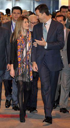 Queen Letizia and King Felipe