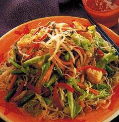 Chinese Vegetarian Rice Noodles recipe