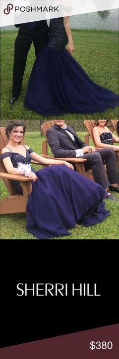 Sherri Hill Prom Dress | mermaid Sherri Hill size 0 Prom dress! Off the shoulder/ straps. Sweetheart neckline and FABULOUS beading!!!! So beautiful!!! Sherri Hill Dresses Prom