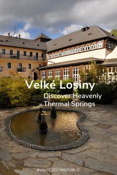 Enjoy the peaceful nature that surrounds Velké Losiny, the oldest spa in Moravia with a tradition going back 450 years. Water Swirl, Wellness Spa, Respiratory System, Wellness Programs, Central Europe, Places Of Interest, Outdoor Pool, Czech Republic, Prague