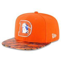 New Era 9Fifty Hat NFL 2016 On Field Color Rush Denver Broncos Snapback Cap 8de8dcfc9
