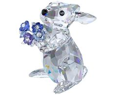 Rabbit with Forget-me-not