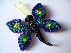 Le papillon de Nanou - Scoubidou tutorial