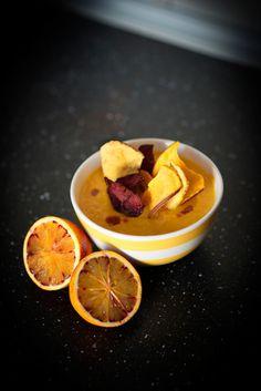 Crema de zanahoria, calabaza y aguacate - El Comidista