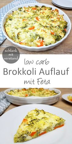 Brokkoli Auflauf low carb – Low carb Rezepte – schlankmitverstand Low Carb Recipes, Soup Recipes, Diet Recipes, Healthy Recipes, Casserole Recipes, Quick Recipes, Quick Snacks, Healthy Foods, Vegetarian Recipes