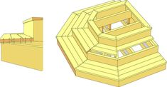 skruvas Deck Steps, Outdoor Steps, Porch Steps, Patio Stairs, Deck Pictures, Building A Deck, Deck Design, Adirondack Chairs, Pergola