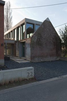Objekt Architecten . Barn house . Dilbeek (5)