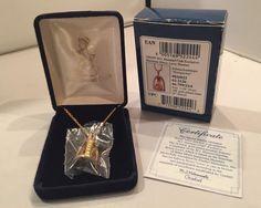 Hummel Goebel Miniature Honey Lover Pendant / Necklace NIB Hummel NEW IN BOX  #Goebel #Pendant
