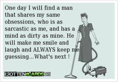 The perfect man ...