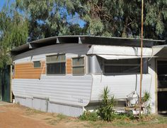 Australian Trailer Park Home Vintage Caravan