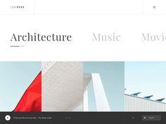 Nikoloz Ergemlidze, designer d'interface à suivre #47 | Webdesigner Trends