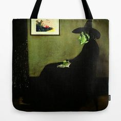 Wizard of Oz Tote Bag | Wizzler's Mother | Wizard of Oz's Wicked Witch of the West Tote Bag