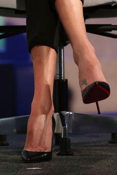 hot high heels of fox news women High Heels Boots, Black High Heels, Pumps Heels, Stiletto Heels, Christian Louboutin Red Bottoms, Shoes 2018, Giuseppe Zanotti Heels, Beautiful High Heels, Sexy Legs And Heels