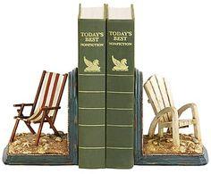Набор из 2 подставок для книг - полистоун, 9х6 см