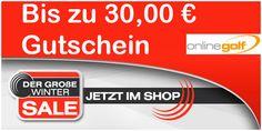 Bis zu 30,00 € mit Gutscheincode bei OnlineGolf sparen