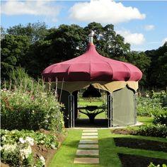 The Yorke Arms dining pavilion