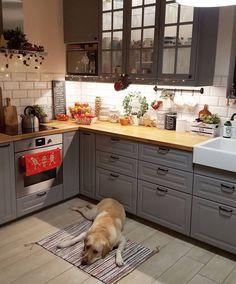 68 Best Elegant Contemporary Kitchen Decor Ideas - New Home Decor 2019 ⋆ masnewsclub Home Decor Kitchen, Rustic Kitchen, Kitchen Interior, New Kitchen, Home Kitchens, Kitchen Backplash, Cocinas Kitchen, Küchen Design, Kitchen Remodel