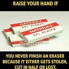 Stolen oftn in childhood this is damn true