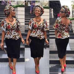 The creativeness of Nigerians when it comes to style is truly amazing. The Ankara fabric has been made into lots of different awesome styles. These styles are brought to life by our tailors and fashion designers and they should be commended. There are lots of styles one can make with fabrics and