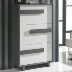 Gallego Sanchez Concept Shoe Storage - White And Ash