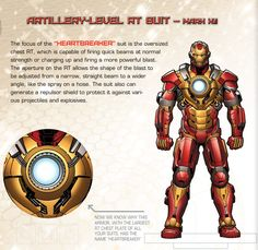 "Iron Man's Hall of Armor: Mark XVII - ""Heartbreaker"""