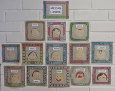 Anna idean kiertää!: esiopetus Art Lessons, Advent Calendar, Back To School, Kindergarten, Preschool, Anna, Martini, Seasons, Teaching