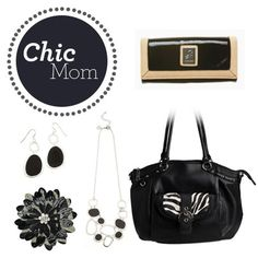 This Mother's Day surprise the Chic Mom in your life with this elegant and stylish #GraceAdele look. #Handbag #Jewelry