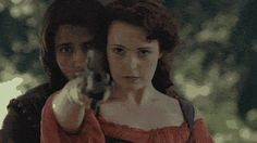 D'artagnan & Constance...all kinds of chemistry...  The Musketeers 4x1 The Good soldier.