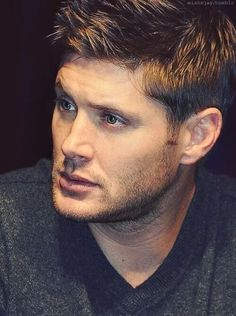 Dean Winchester (Jenson Ackles) as Horatio because he is loyal to Hamlet