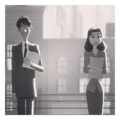 Pinterest / Search results for paperman ❤ liked on Polyvore featuring disney and paperman