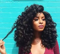 CROCHET WIG Unit Synthetic Marley Hair Kinky Natural Protective Style Curly Long…