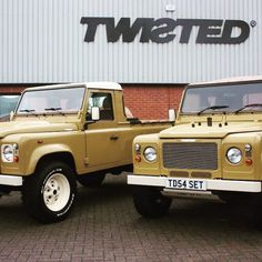 Twisted Retro Edition pick up or soft top? Your car your choice! -  #TwistedDefender #Defender #LandRover #Retro #Edition #BahamaGold #LandRoverDefender #Style #4x4 #Details #Handmade #Handcrafted #Yorkshire #DefenderRedefined #Premium #Modified #Customised #AntiOrdinary #Lifestyle