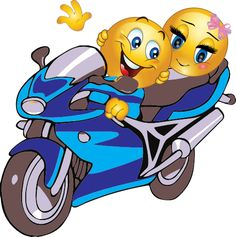 If you enjoy getting away from it all and just hanging with your baby, these are the perfect smileys for you. emoji png Riding with Honey
