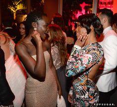 Pin for Later: Die 55 besten Bilder der Oscars 2015 Lupita Nyong'o und Regina King