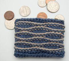 Crochetville 2015 Designer Blog Tour | Featured Designer Donna Hulka | Pattern: Gentle Waves Coin Purse | #natcromo