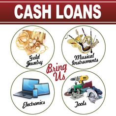 #Cash #loans on #gold #Jewelry, #musical #instruments, #electronics, #tools & more. Bring us your unwanted items today.