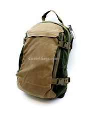 Grey Ghost Gear Throwback Pack. A stylish concealed carry backpack with lots of tactical features inside.