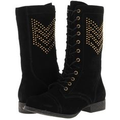 Betsey Johnson Tempest Women's Lace-up Boots, Black