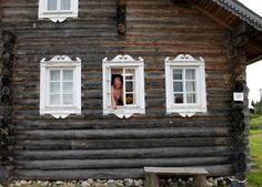 карельская дом финно-угорский - Google-haku Windows, Frame, Google, House, Home Decor, Picture Frame, Decoration Home, Home, Room Decor
