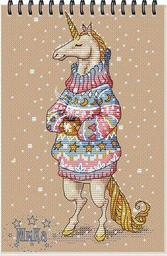 Схемы по иллюстрациям Юлии Селиной