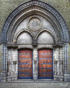 Doors in Brugge, Belgium