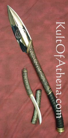 Hellboy II Prince Nuada Spear. This would actually make a great weapon