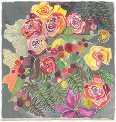 """Image of abode roses print 11""""x14"""""""