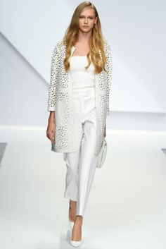 Krizia RTW Spring 2014 - Slideshow - Runway, Fashion Week, Reviews and Slideshows - WWD.com