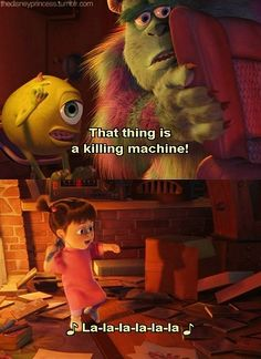 Monsters Inc.- movie quote