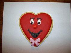 Valentine Cookie Large Boy Heart