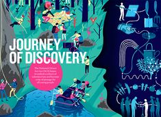 This is a double page spread I did for the recent issue of ethos journal.